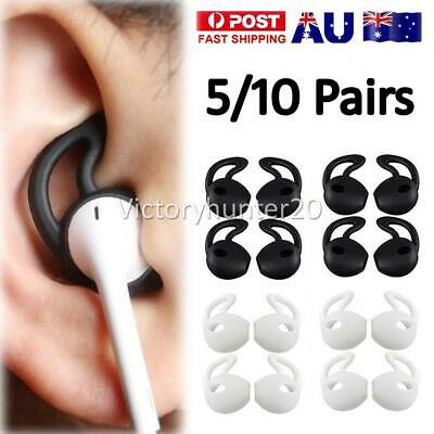 AU10.95 • Buy 5-10 Pairs Silicone Ear Hooks Skin Cover For Apple AirPods AirPod Headphones NEW