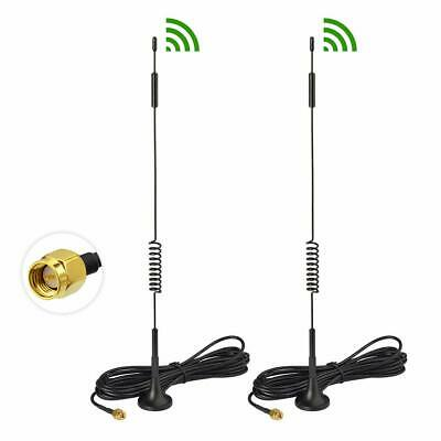 £7.49 • Buy 2X 4G External Magnetic Antenna For HUAWEI B315 B593 Wireless Gateway LTE Router