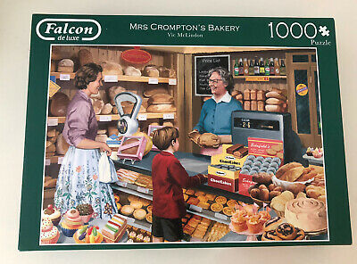 £5 • Buy Falcon 1000 Piece Jigsaw Puzzle Mrs Cromptons Bakery