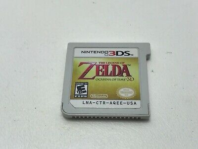 AU14.14 • Buy The Legend Of Zelda: Ocarina Of Time 3D (3DS, 2011) Cartridge Only