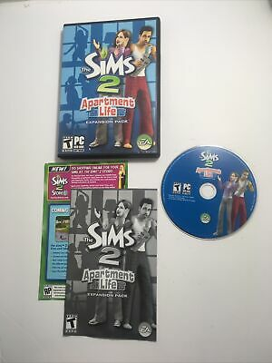 £6.52 • Buy Sims 2: Apartment Life - Expansion Pack (PC, 2008)~Complete~{Manual & Key Code}