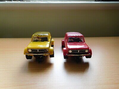 £21.95 • Buy Scalextric - C122 Mini 1275GT X 2. Red No1 & Yellow No3. Excellent. Used.