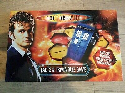 £3 • Buy BBC Dr Who Doctor Who Facts And Trivia Quiz Game With Amazing Spinning Tardis