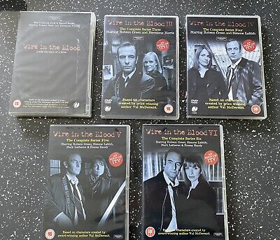 £9.99 • Buy Wire In The Blood Complete Collection DVD