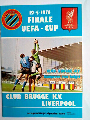 £14.95 • Buy Club Brugge V Liverpool, UEFA Cup Final Programme 1976, Excellent Condition