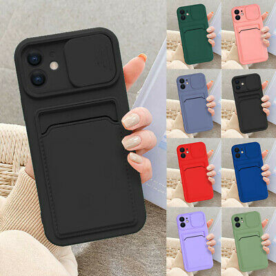 AU5.18 • Buy For IPhone 13 Pro Max 11 X XS 12 8 7 Plus Case Card Slot Wallet Slim Phone Cover