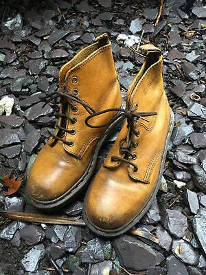 £23 • Buy Original Dr Martens Tan Leather Air Wair Boots Size 5 UK