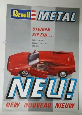 £2.99 • Buy Revell Metal Die Cast 1987/8 Trade Pamphlet / Catalogue