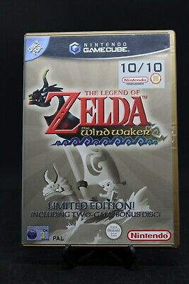 AU159.99 • Buy Zelda Windwaker With Ocarina Of Time + Master Quest Disc For GameCube PAL