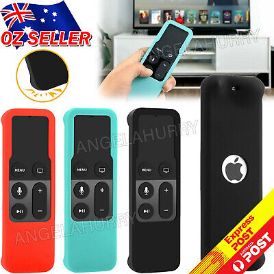 AU4.45 • Buy For Apple TV (4th Gen)  Remote Controller Anti Dust Silicone Case Cover NEW