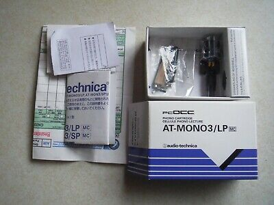 £40 • Buy Audio Technica AT-Mono 3 LP.  Moving Coil Cartridge. Under 50 Hours. Boxed.