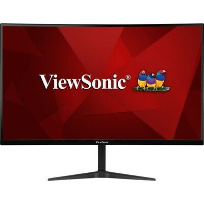 AU408.08 • Buy NEW Viewsonic VX2718-PC-MHD Widescreen LCD Monitor Gaming 27in 165Hz Curved Mntr