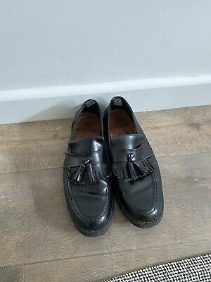 £14.99 • Buy Fred Perry Leather Tasseled Loafers Shoes