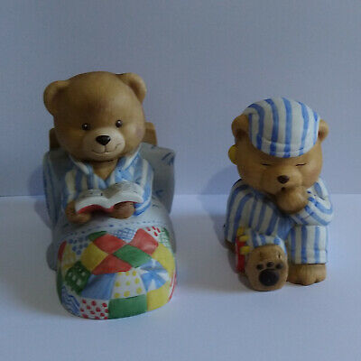 £12.95 • Buy Barely Bears Ornaments X 2 - Barely Tired And Barely Awake - Please Read