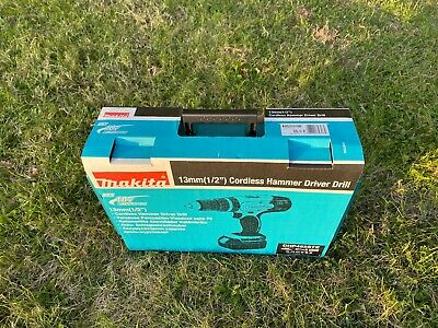 £60 • Buy Makita DHP453 18v Cordless Combi Drill Body Only + Charger + Case BRAND NEW
