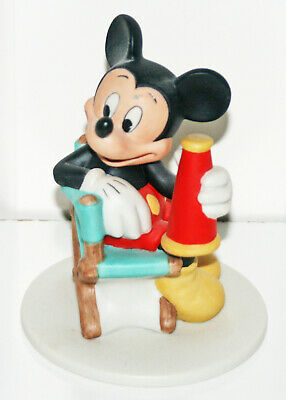 £8.74 • Buy Mickey Mouse Figure Figurine Tv Movie Director Producer Chair 4  Tall Cake Top