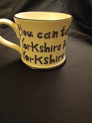 £4.99 • Buy Moorland Pottery Mug Cup Yorkie Ware Made For Yorkshire Folk