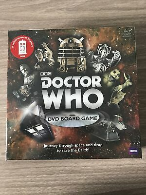 £5 • Buy DOCTOR WHO DVD Board Game 50th Anniversary Factory Sealed - Brand New