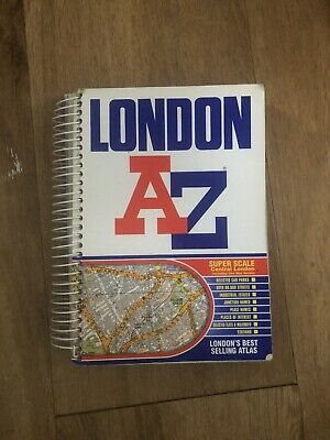 £1.70 • Buy London A To Z Map Book
