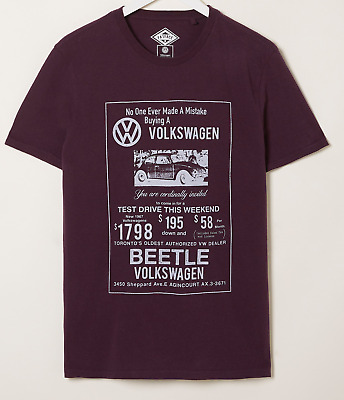 £15.95 • Buy Fatface Vw Beetle Grapic T-shit. Large. New.