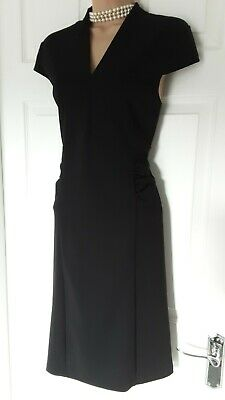 £15 • Buy LIPSY  BLACK FITTED DRESS SIZE 16 Occasion Business Meeting Evening Or Formal
