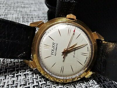 £40 • Buy POLJOT AUTOMATIC GENTS WATCH 22 JEWELS RARE VINTAGE MADE IN USSR 1960s