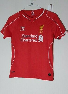 £5 • Buy Liverpool Warrior 2014/15 Home Shirt Size LB Youth 146 Red