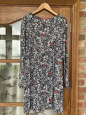 £9.49 • Buy Women's Joules Floral Tunic Dress Size 14