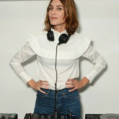 AU88.27 • Buy M&S X Alexa Chung - White Frill Harry Blouse - Brand New. UK 8. NEW With Tags