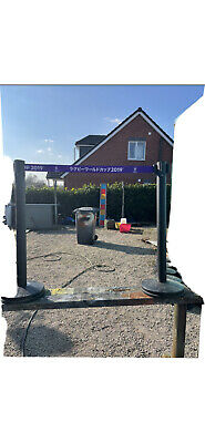 £10 • Buy Retractable Crowd Control Barriers Safety Barriers Security Pole Posts Stands X1