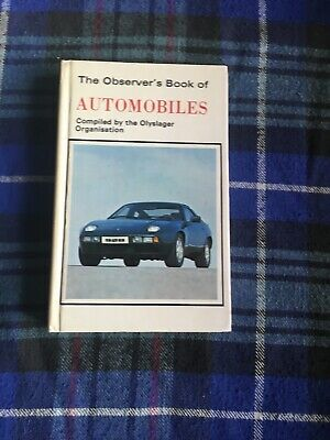 £7.99 • Buy The Observers Book Of Automobiles