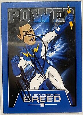 AU5 • Buy Will Hopoate Canterbury Bulldogs 2016 The Canterbury Breed Nrl Signed Card