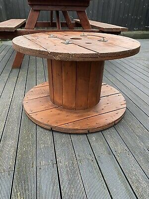 £50 • Buy Wooden Cable Reel Drum Table