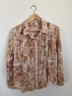 AU50 • Buy Spell & The Gypsy Collective Jungle Blouse Top Xs