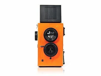 View Details Blackbird Fly 35mm TLR Twin Lens Reflex Camera - Black With Orange Face Camera • 306.98£