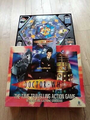 £2.50 • Buy Doctor Who The Time Travelling Action Game With Revolving Electronic Game Board