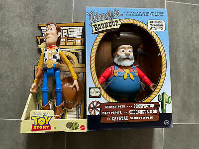 £49.99 • Buy Disney Toy Story 2 Woody's Round-up Pack  Woody & Stinky Pete The Prospector