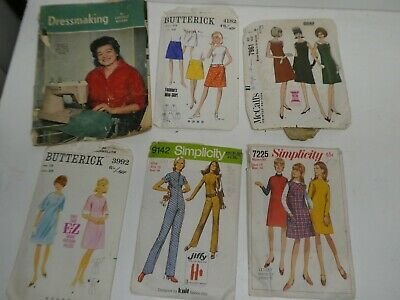 £10.30 • Buy Collection Vintage Ladies Dress Patterns Butterick Simplicity Dressmaking Rivers