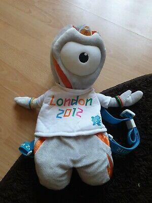 £7.50 • Buy Official Product London 2012 Mascot Wenlock Soft Toy Rucksack Bag
