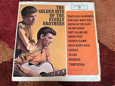 £3.99 • Buy The Golden Hits Of The Everly Brothers Warner Bros Good Condition For Age