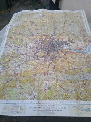 £3 • Buy Greater  London England  Map  Ordnance Survey Os  Special Edition Relief Map