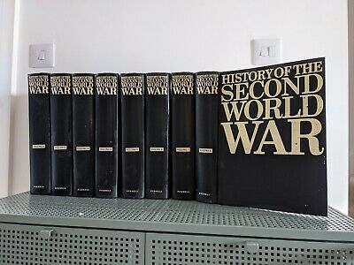£150 • Buy Purnell History Of The Second World War Complete Set In 8 Binders WW2 WWII