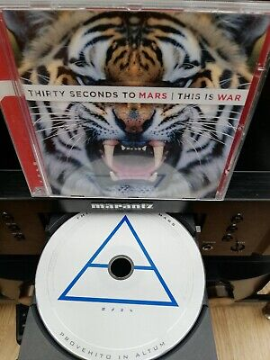£0.99 • Buy 30 Seconds To Mars - This Is War (2009 CD) Immaculate Condition.