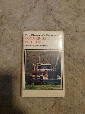 £1 • Buy Observers Book Of Commercial Vehicles