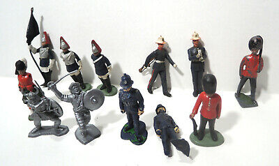 £5.95 • Buy Vintage Britains Toy Soldiers Mixed Lot Plastic, 1 Lead, Faults Spares / Repairs