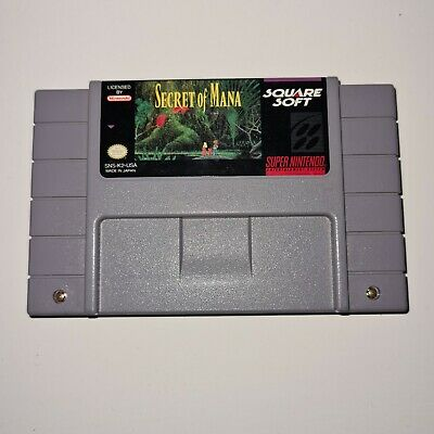 £20 • Buy Super Nintendo SNES Secret Of Mana NTSC USA Game Cartridge Only Tested Working