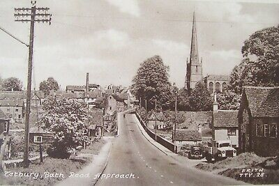 £1.25 • Buy Pa1)  Old Frith's Postcard Of Bath Road Tetbury Gloucestershire