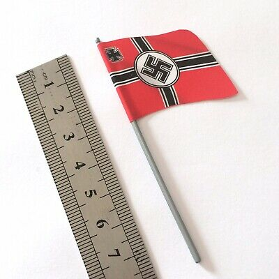 £2 • Buy Britains Deetail German Flag WW2 X1 For Toy Soldiers (1:32 Scale) Silver Pole