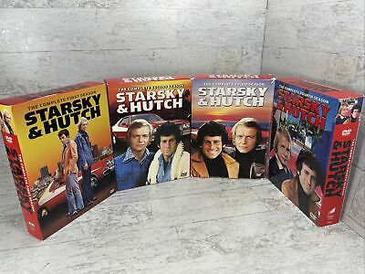 £32.54 • Buy Starsky And Hutch: The Complete Series DVD Set 1-4, Seasons 1 2 3 4 Authentic