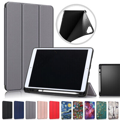 £13.42 • Buy Smart PU Leather Case Cover With Pencil Holder For IPad 10.2 2021 9th Gen Tablet